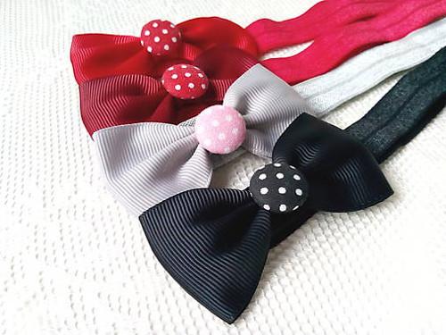 Baby girl elastic headbands
