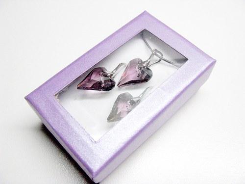 Dárková krabička ke šperkům