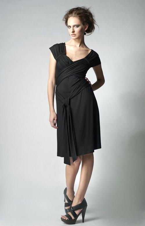 šaty - ovinovací efekt