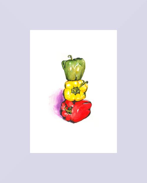 Papričky (tisk A4)
