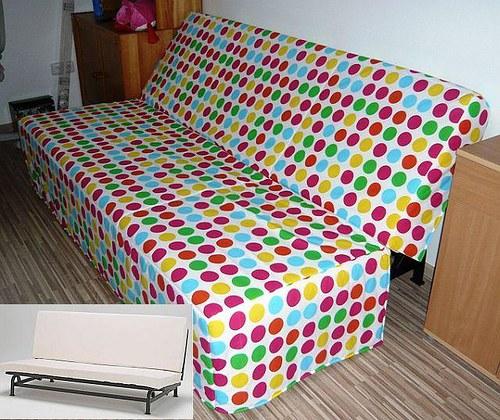 Prostorový PŘEHOZ na IKEA sedačku