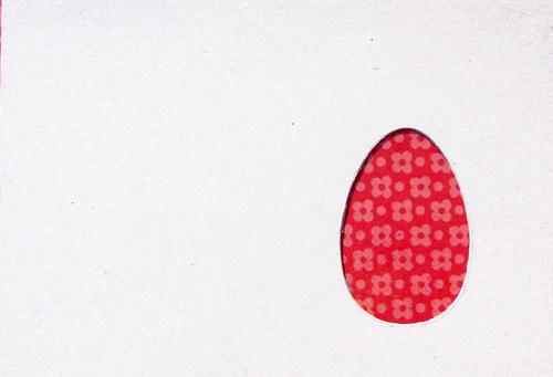 Stránka s malou kraslicí - barva podle přání