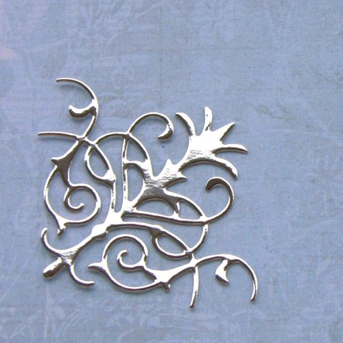Rohový ornament barokní