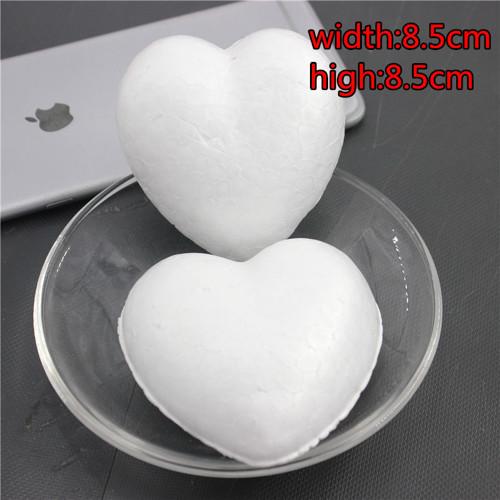 Polystyrenová srdce 8,5  m