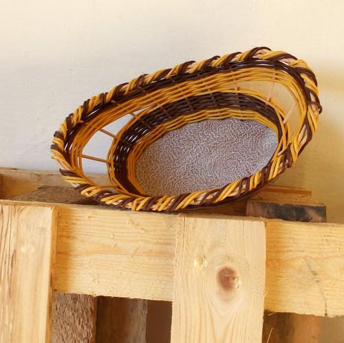 Košíček s keramickým dnem