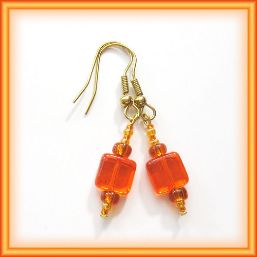 Oranžové placičky