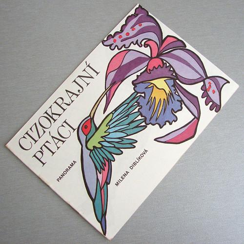 Cizokrajní ptáci - retro omalovánky