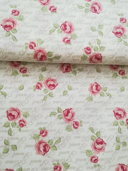 Růžičky a písmo na vanilce