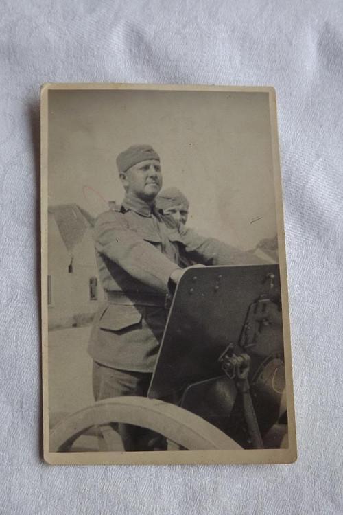 Fotografie vojáka
