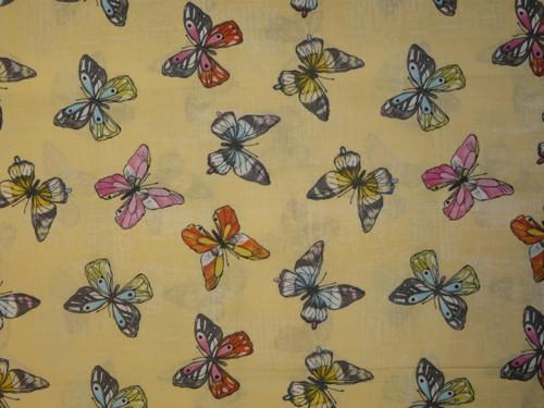 motýly na žluté