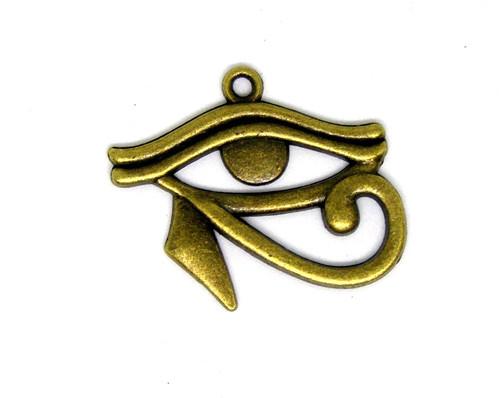 Přívěsek kovový Horovo oko, 2 ks