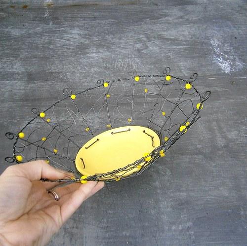 Žlutá - miska - SLEVA