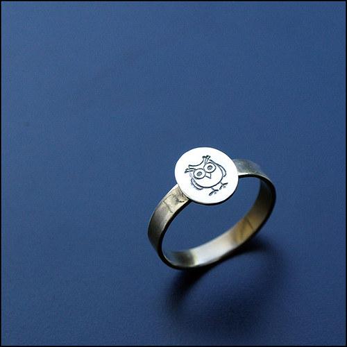 Soví prstýnek
