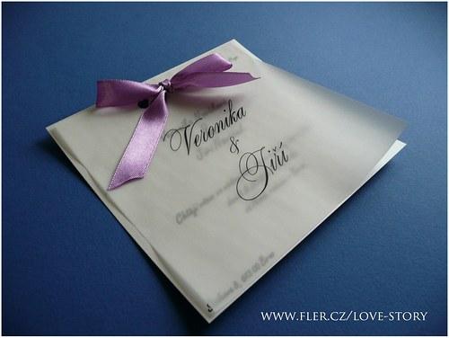 Svatební oznámení Klasik