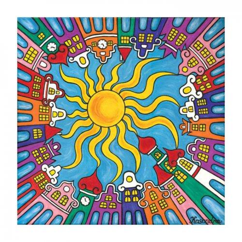 Magnetka - Město šťastných lásek - den