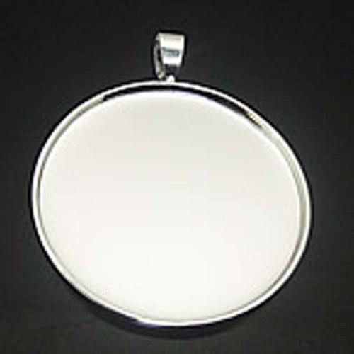 Lůžko kruhové 35mm, závěs, rovný okraj, platina