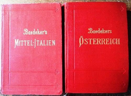 Baedeker - průvodce Střední Itálií a Římem /1908/