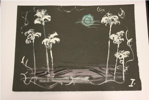 Bouře v ráji - soubor 4 kreseb