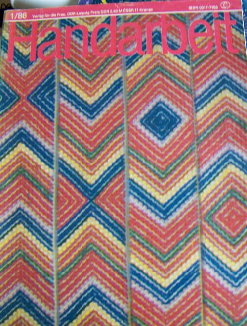 Časopis Handarbeit.