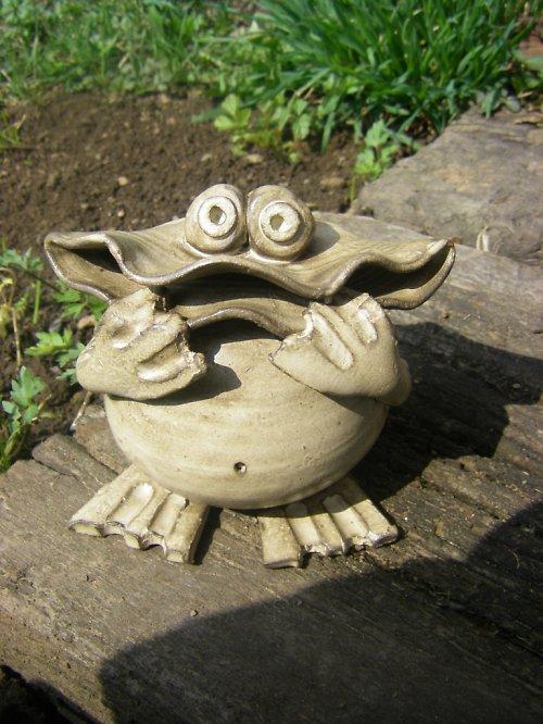 žába pokladnička