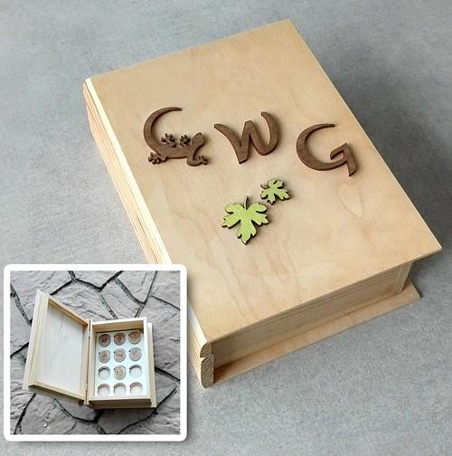 Krabička na CWG mince a poklady