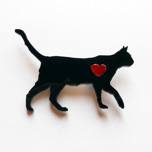 Kočka - srdcovka
