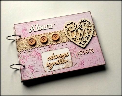Romantický svadobný album A5