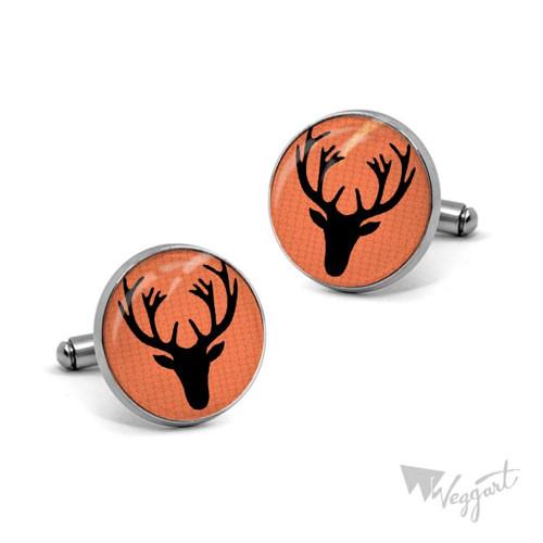Manžetové knoflíčky jelení