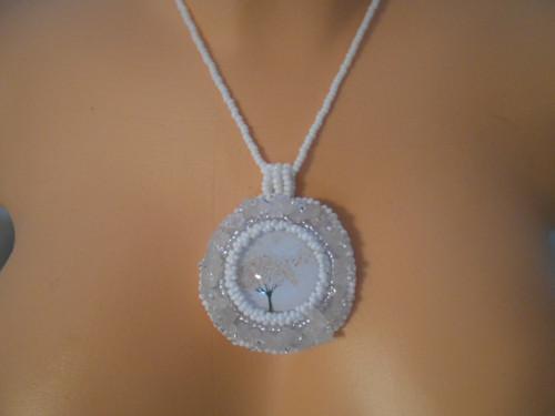 náhrdelník - růženín