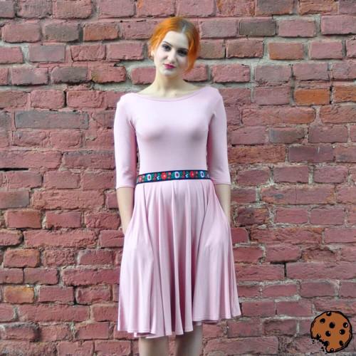 Froken Christina - úpletové šaty, různé barvy