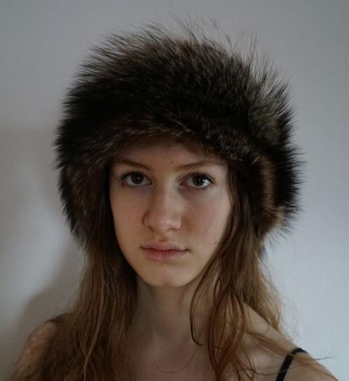 Luxusní čelenka z lišky