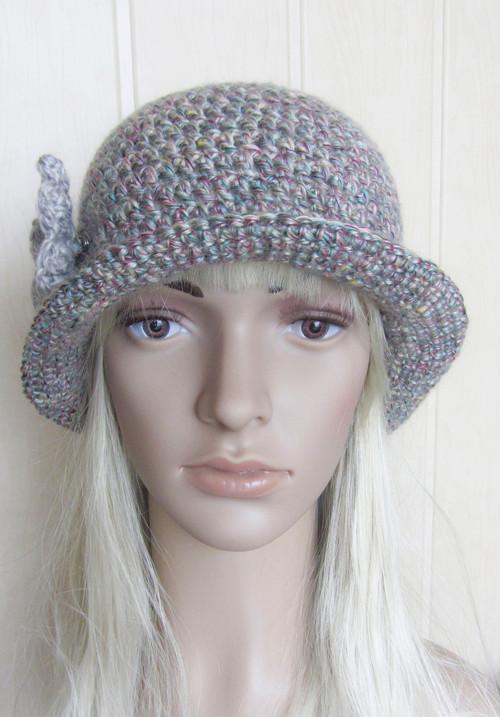 Melírová elegance - klobouk