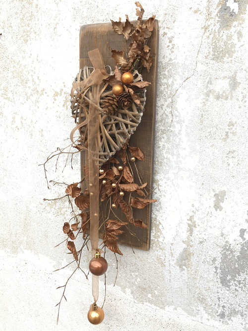 Vánoční dekorace Srdce