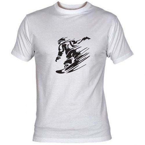 Pánské tričko SNOWBOARD - 2 barvy