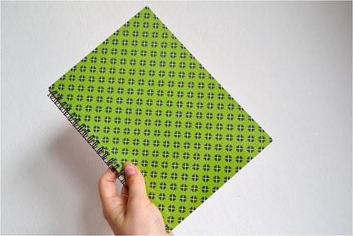 Deník A5 s výbavou, kostičkovaný, 40 listů