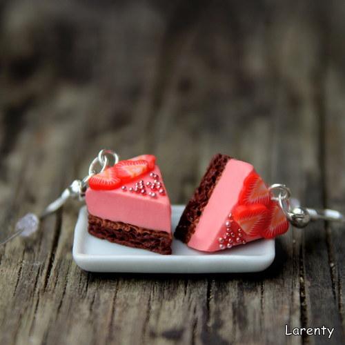 JAHODOVÝ krémový dort