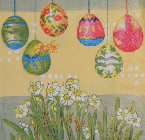 Ubrousek - velikonoční vajíčka
