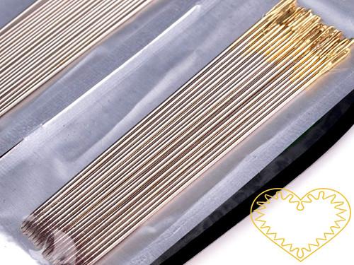 Jehly na perličky - sada 20 kusů 0,5 mm