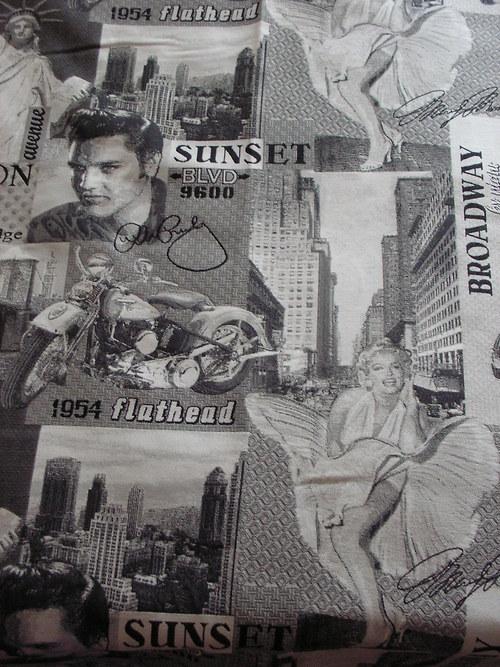 Přehoz na postel - Marilyn M. a Presly - Amerika