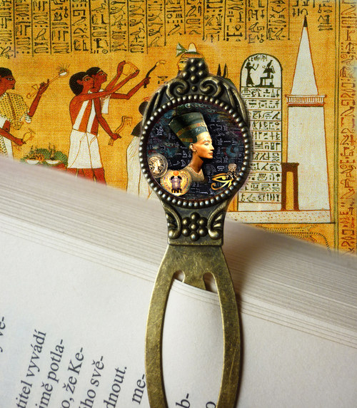 Tajnosti  egyptské - záložka