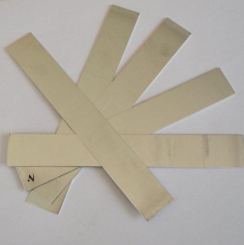 Sada výztuh pro náramek IV / 5 ks (úzká - dlouhá)