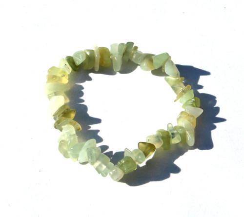 Minerální náramek ze zlomků - JADEIT