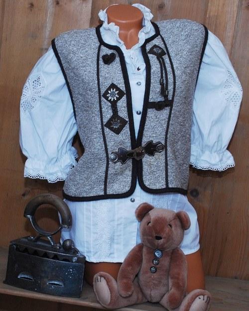 Kvalitní vesta folklórní