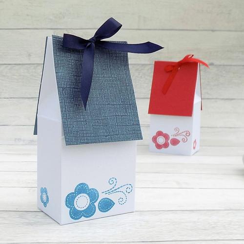 """DOMEČEK dárková krabička, \""""Na lidovou notu\"""""""