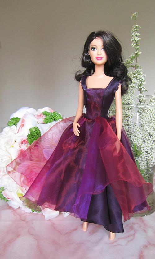 Barbie plesové šaty - VÝPRODEJ