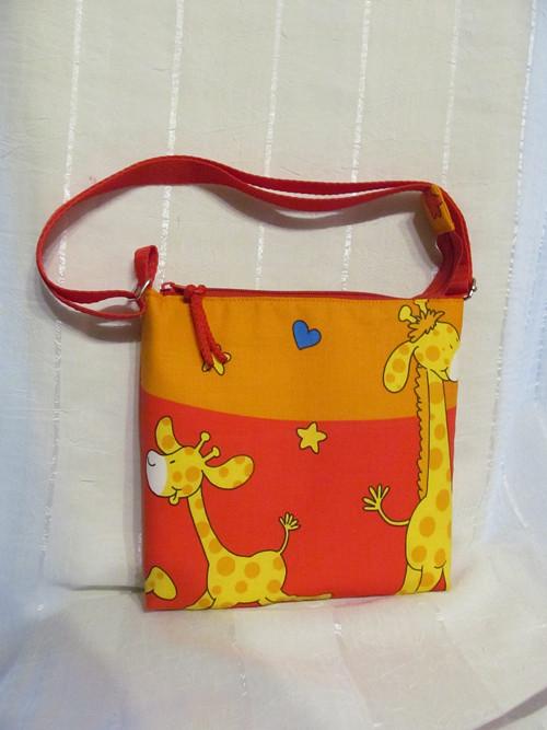 Kabelka pro malé slečny - žirafka