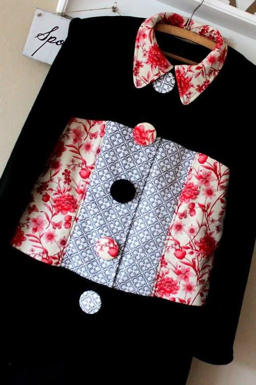 mikino- kabátek na přání:-)