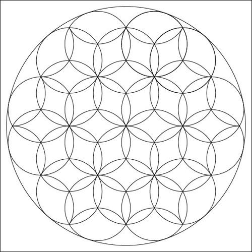 Mandala - motiv č. 22