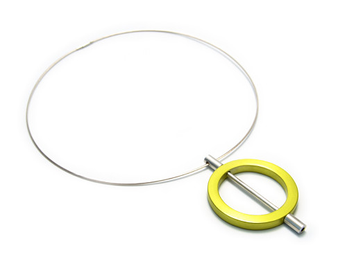 náhrdelník ze série [modulor] - kruh