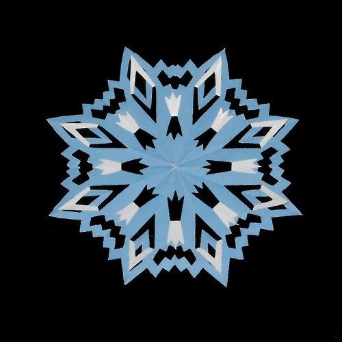 Laminovaná podložka podhrneček - hvězda